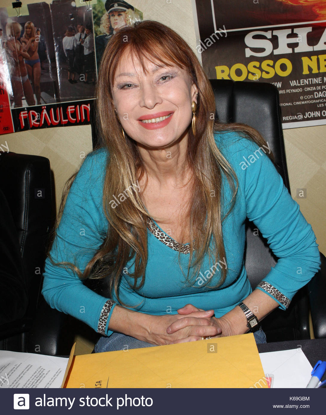 malisa longo_Malisa Longo. Celebrities signing autographs and meeting fans at The Stock Photo ...
