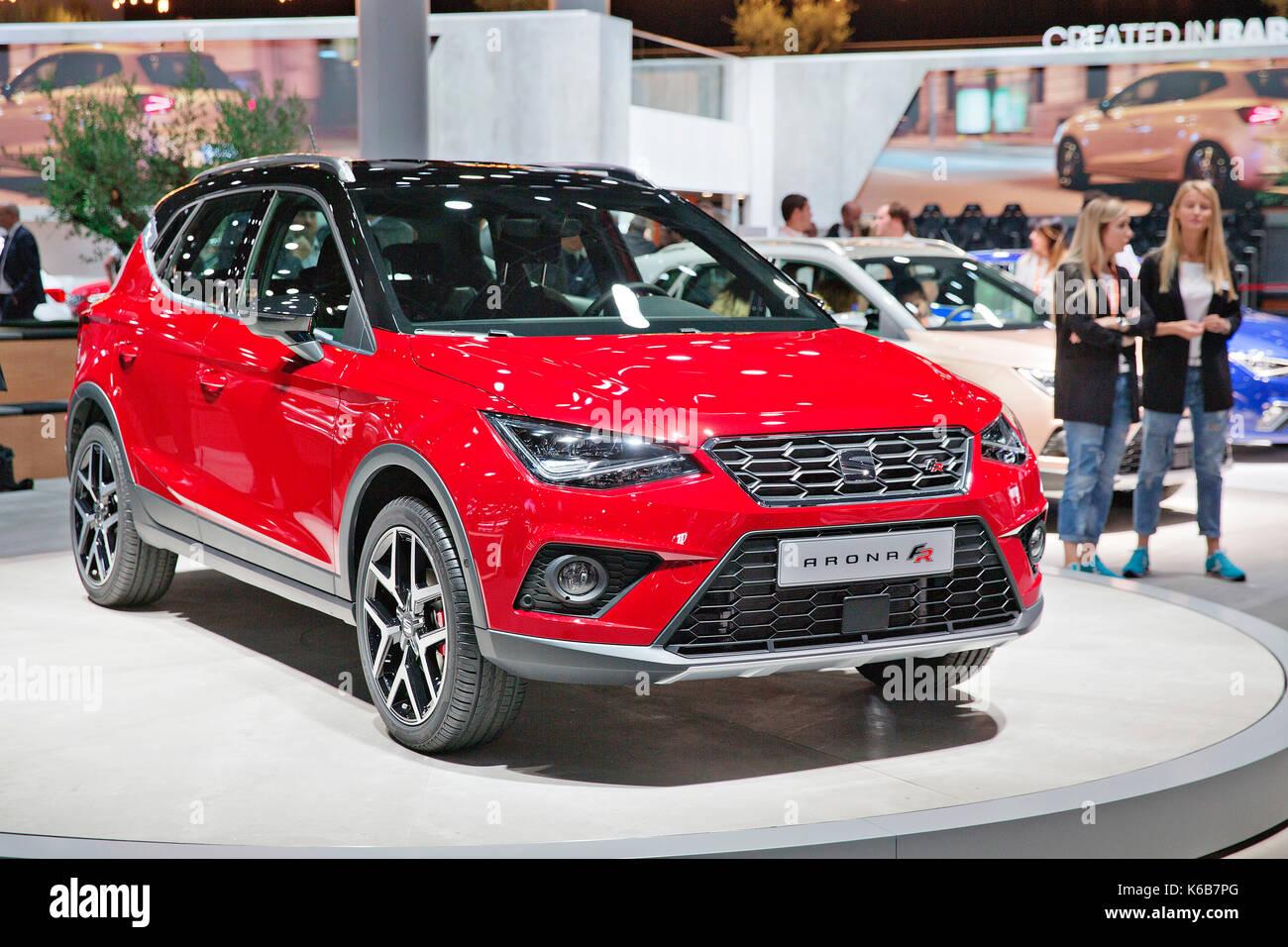 SUV Seat Arona FR - Stock Image