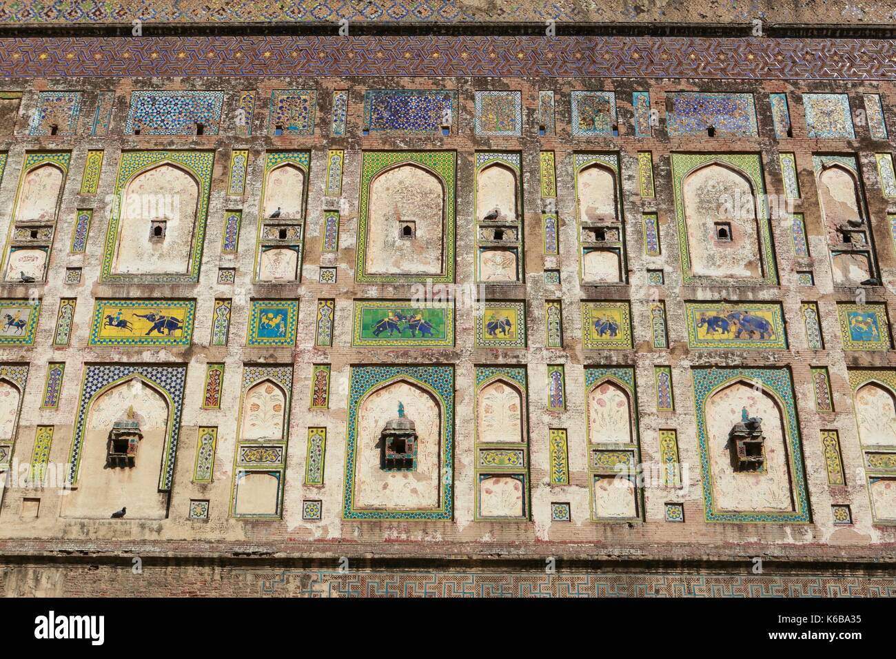 Lahore Fort - Stock Image