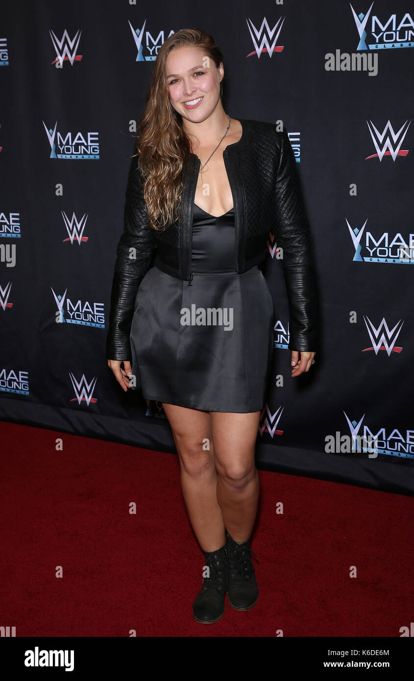 Ronda Rousey Red Carpet High Resolution Stock Photography And Images Alamy