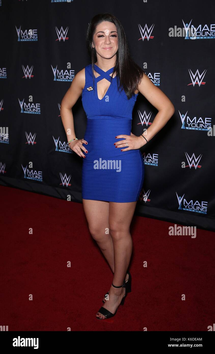 braless Young Bayley WWE naked photo 2017