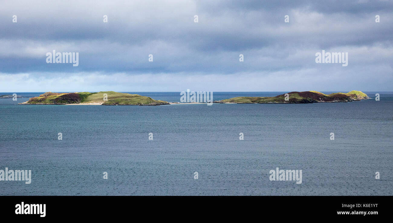 The Rabbit Islands, Sutherland, Scotland - Stock Image