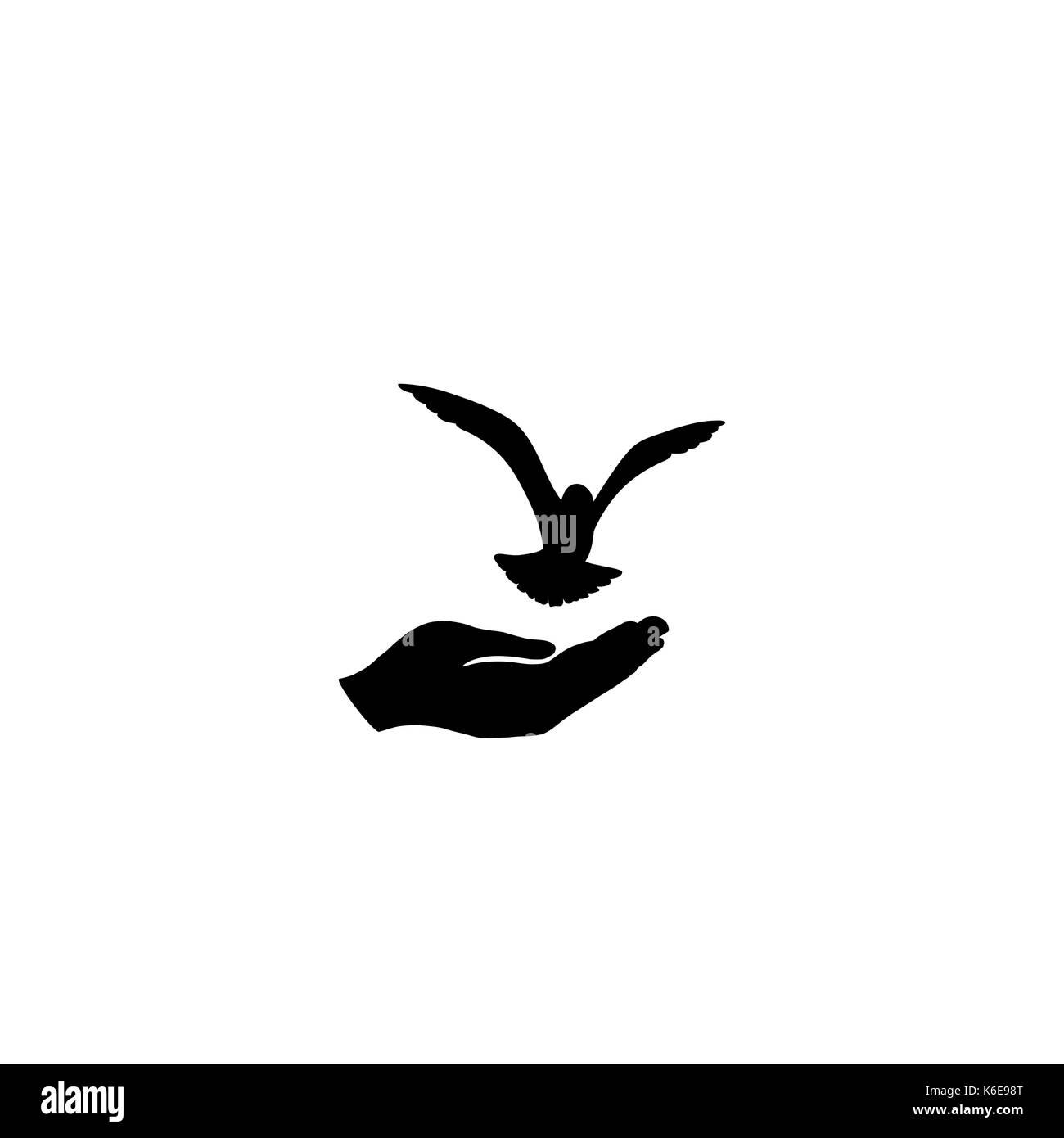 Dove bird peace sign - photo#55