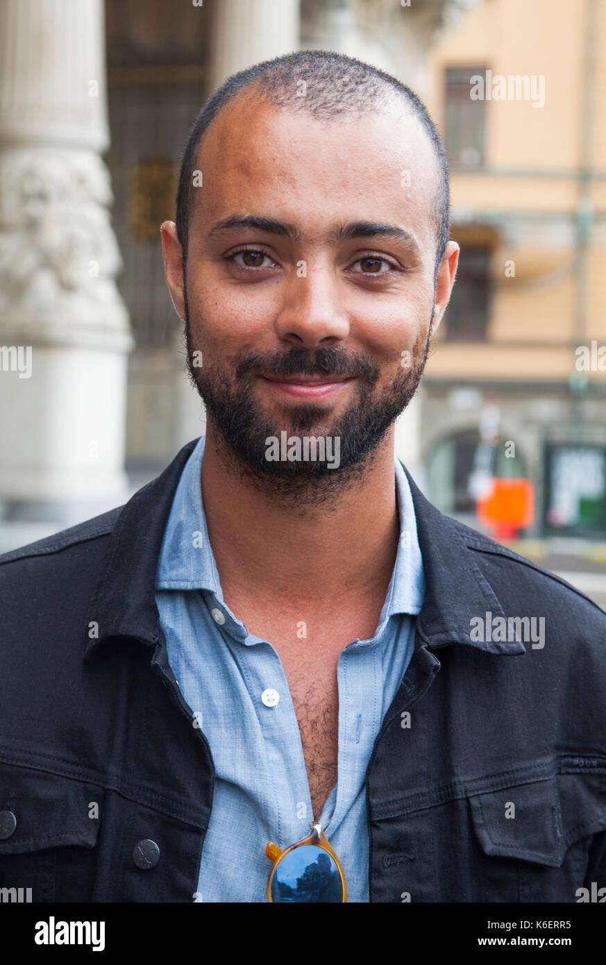 ALEXANDER SALZBERGER Swedish actor at Royal Dramatic Theater 2017 - Stock Image