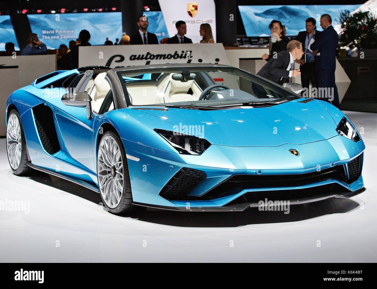 Lamborghini Aventador Roadster Stock Photo Alamy
