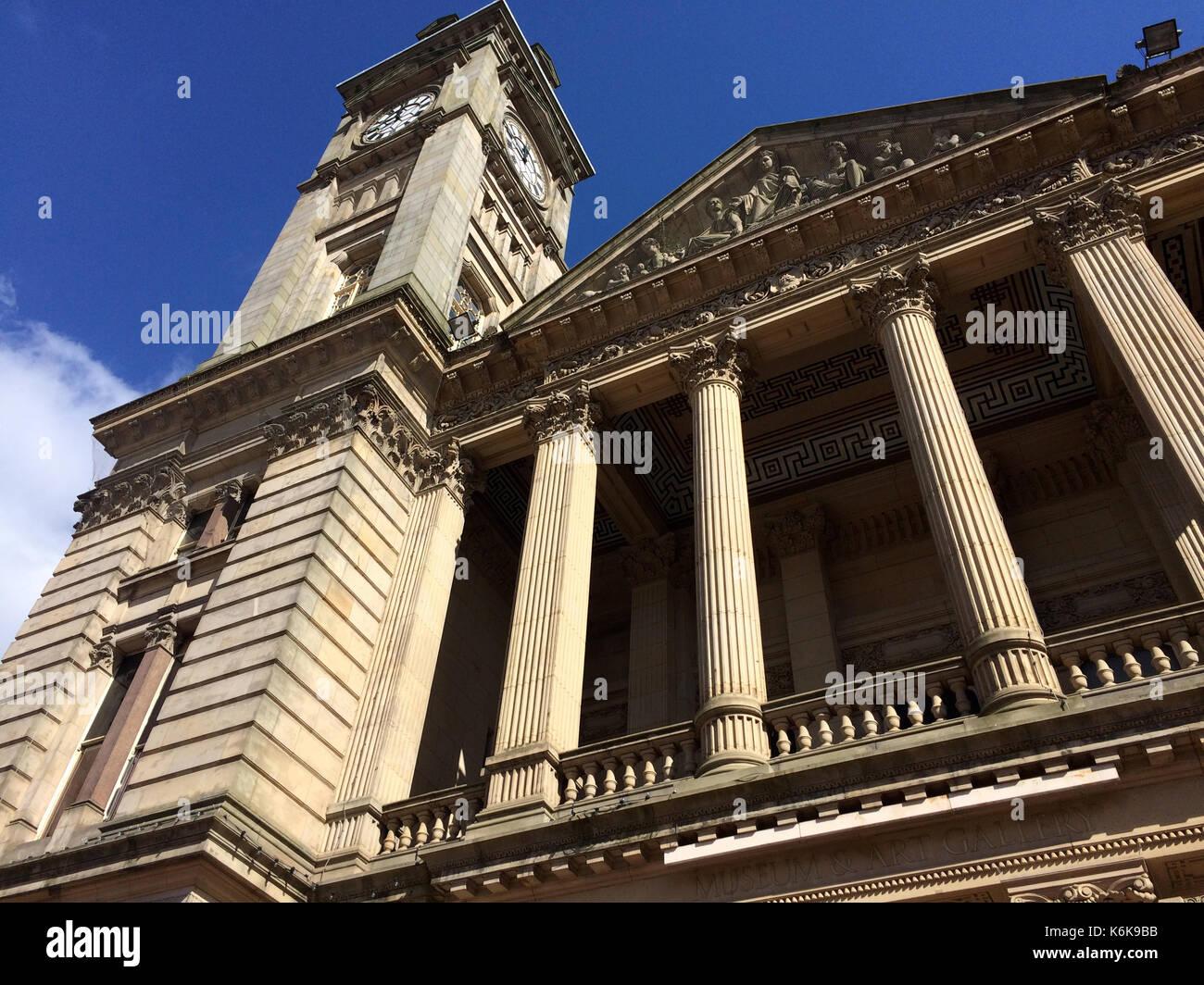 Birmingham Museum and Art Gallery (BMAG) - Stock Image