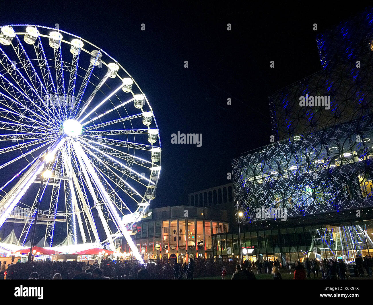 Big Wheel, Birmingham UK 2016 Stock Photo