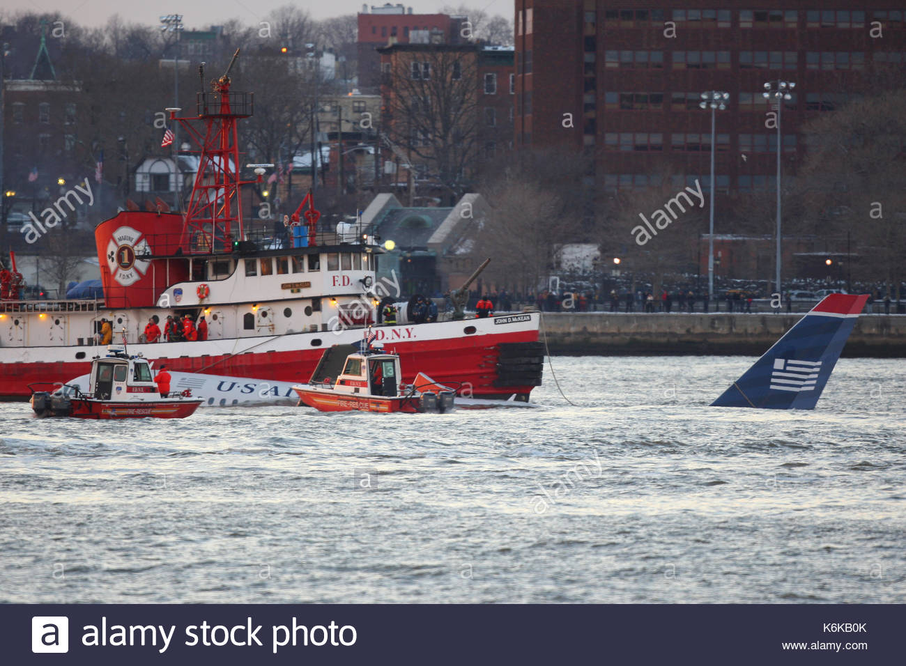 US Airways Flight 1549. US Airways Flight 1549 crashes into NYC's Hudson  River.