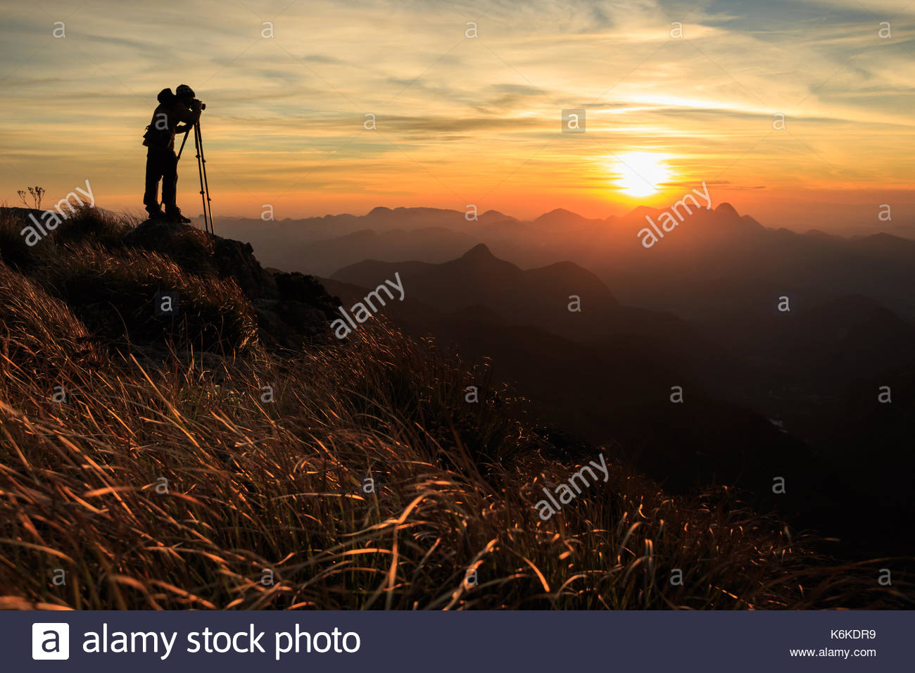 Serra dos Orgaos National Park, Rio de Janeiro, Brazil - Stock Image