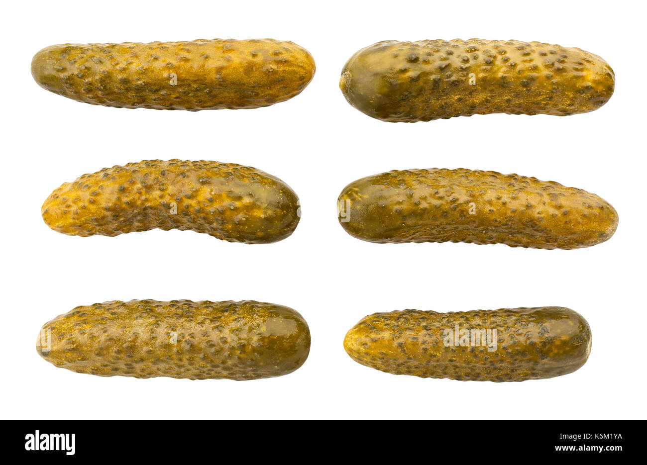 pickle path isolated - Stock Image