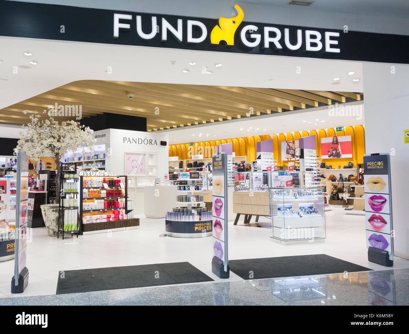 Funde Grube store in Spain - Stock Image