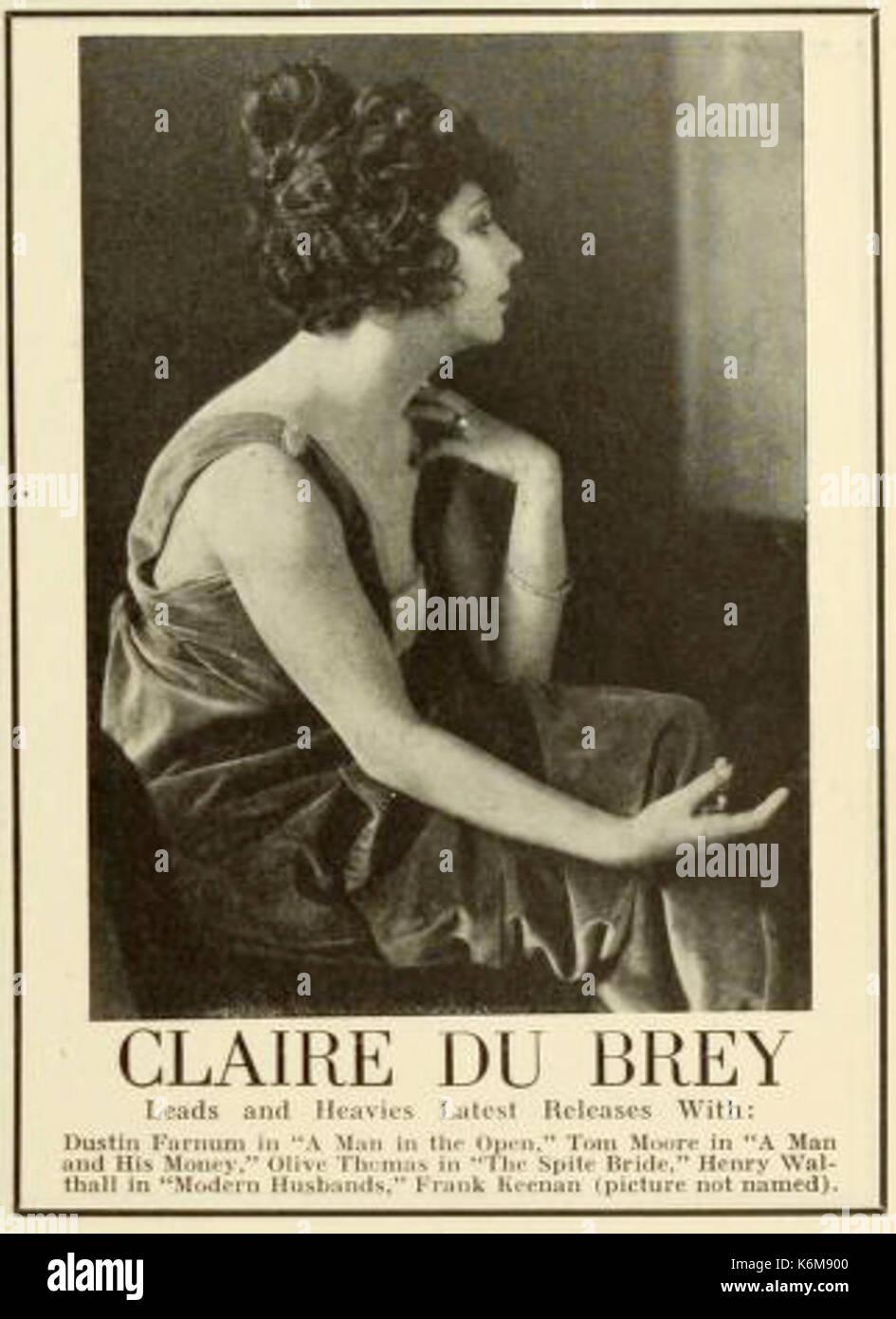 pictures Claire Du Brey