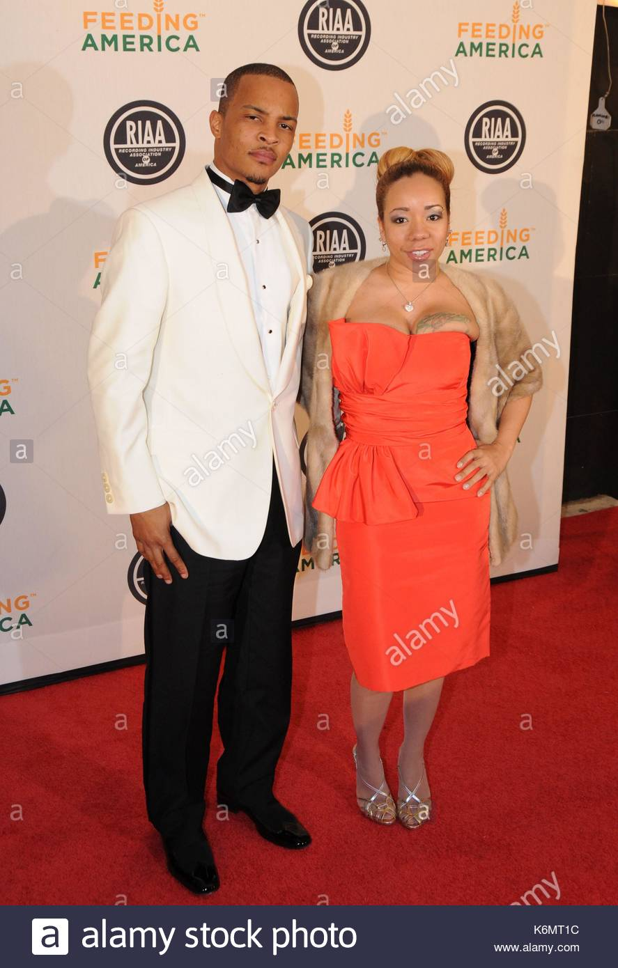 Rapper Ti Rapper Ti Walks The Red Carpet In Washington Dc With A Girl On His Side