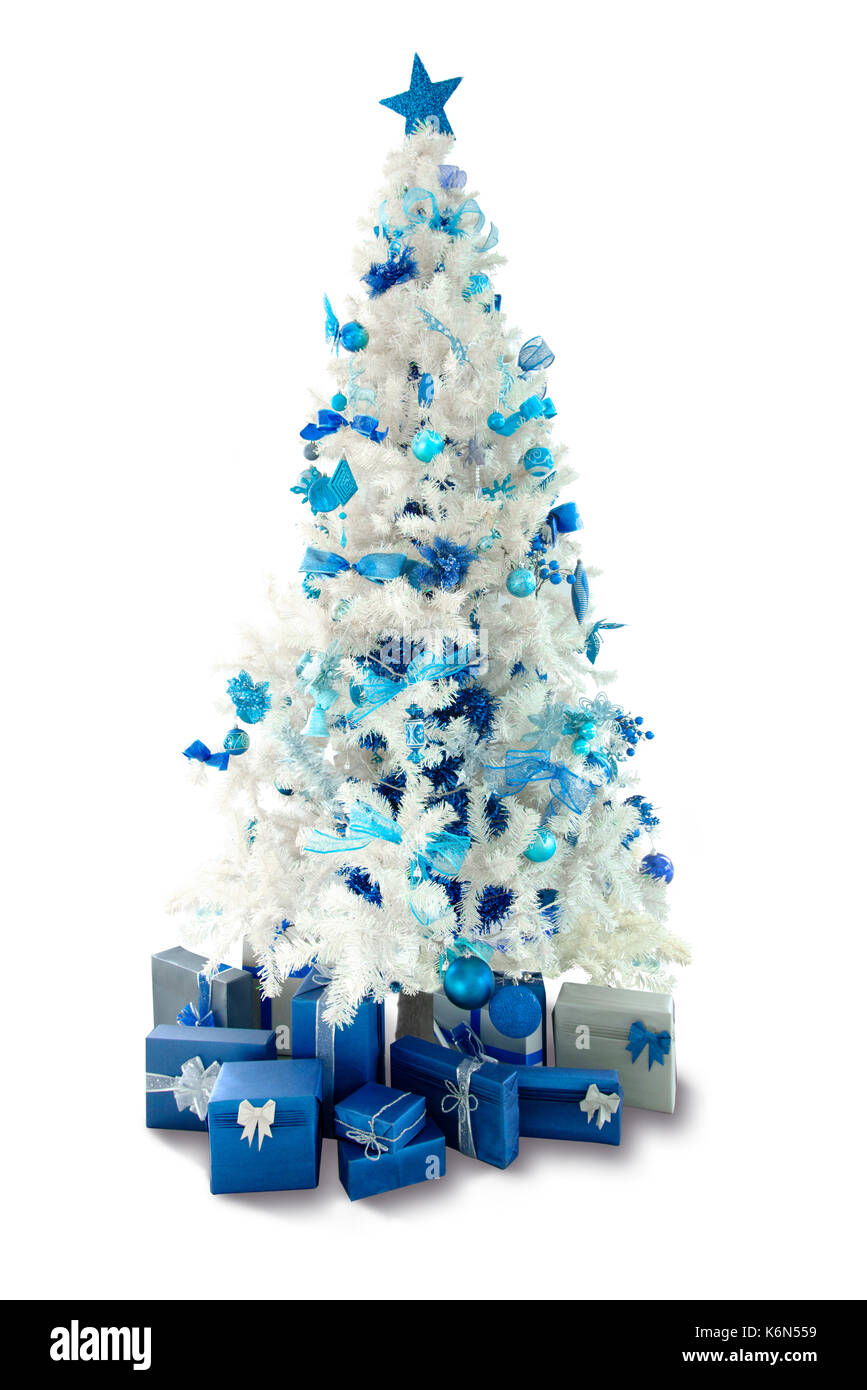 Christmas Trees Cut Out Stock Images & Pictures - Alamy