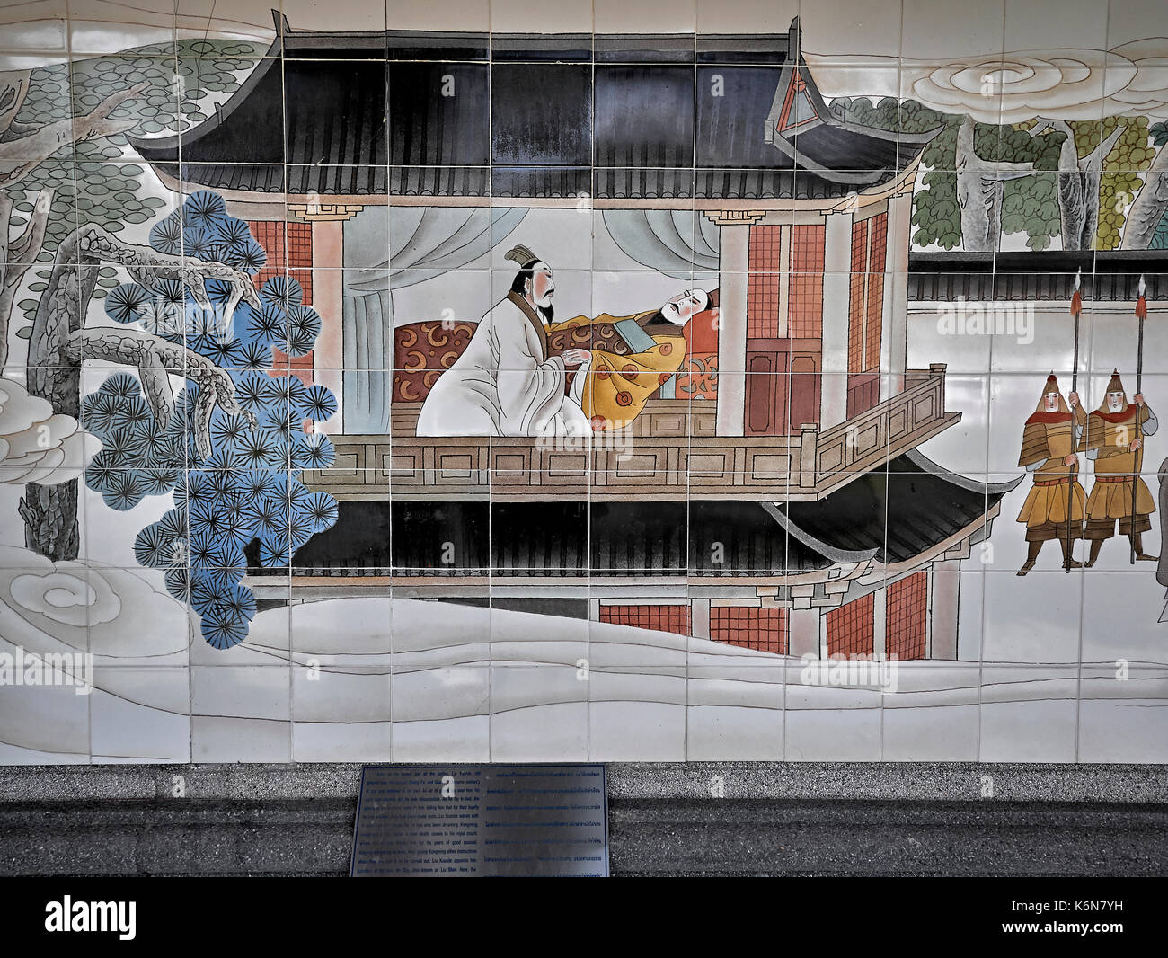 chinese mural painting kingdoms stock photos amp kingdoms stock images alamy 10163