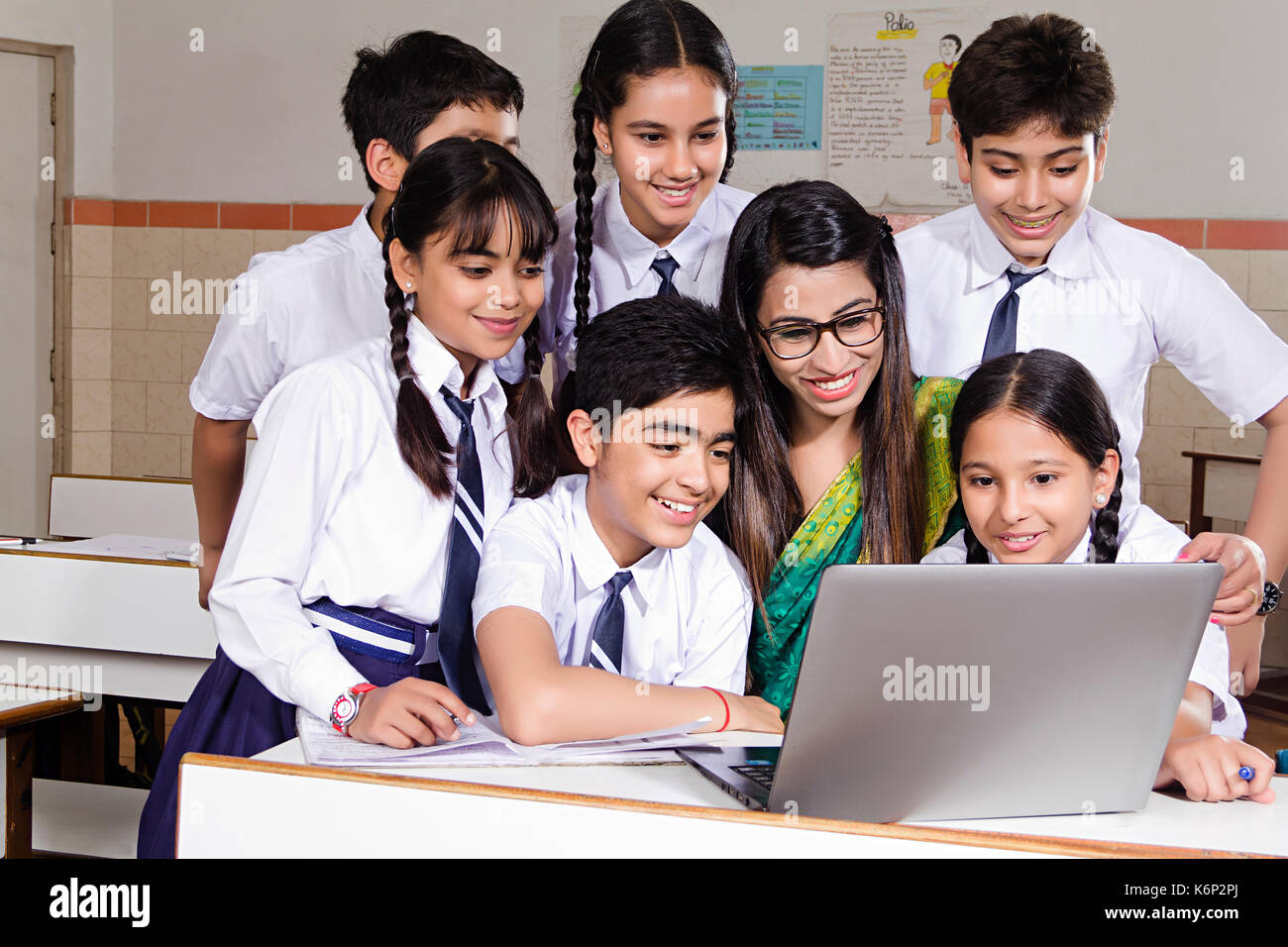indian students studying in classroom wwwpixsharkcom