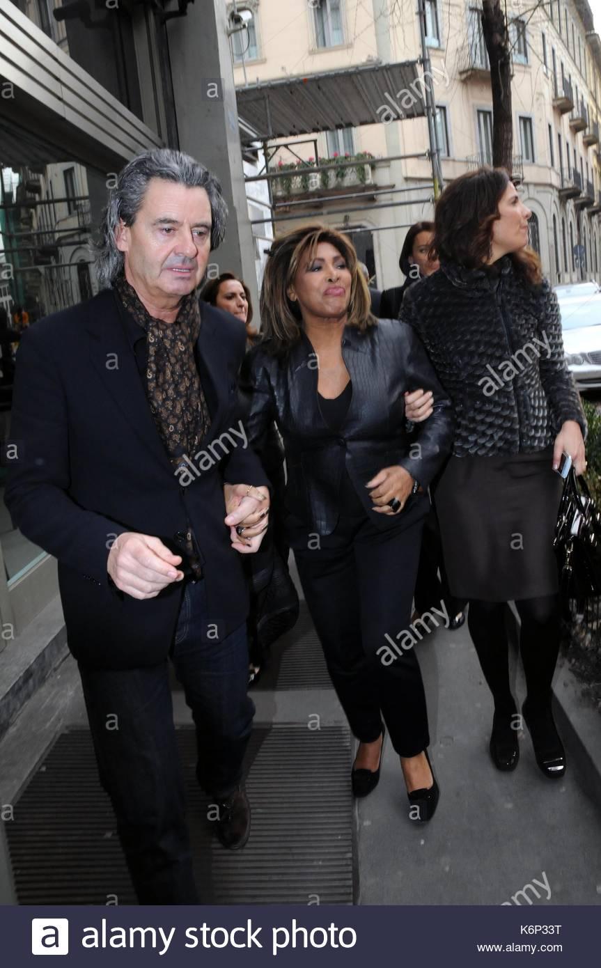 Tina Turner And Erwin Bach Stock Photos & Tina Turner And Erwin Bach Stock Images - Alamy