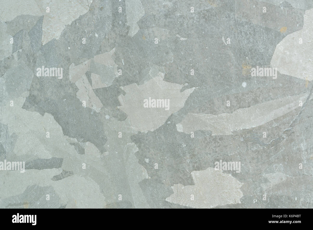 Closeup tin texture background with copy space - Stock Image