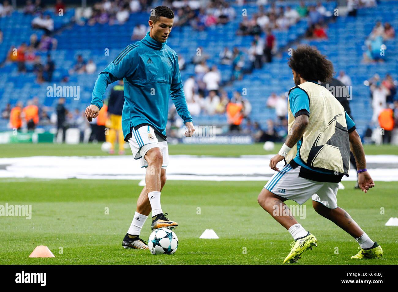 6868e12e549b Real Madrids Cristiano Ronaldo Marcelo Stock Photos & Real Madrids ...