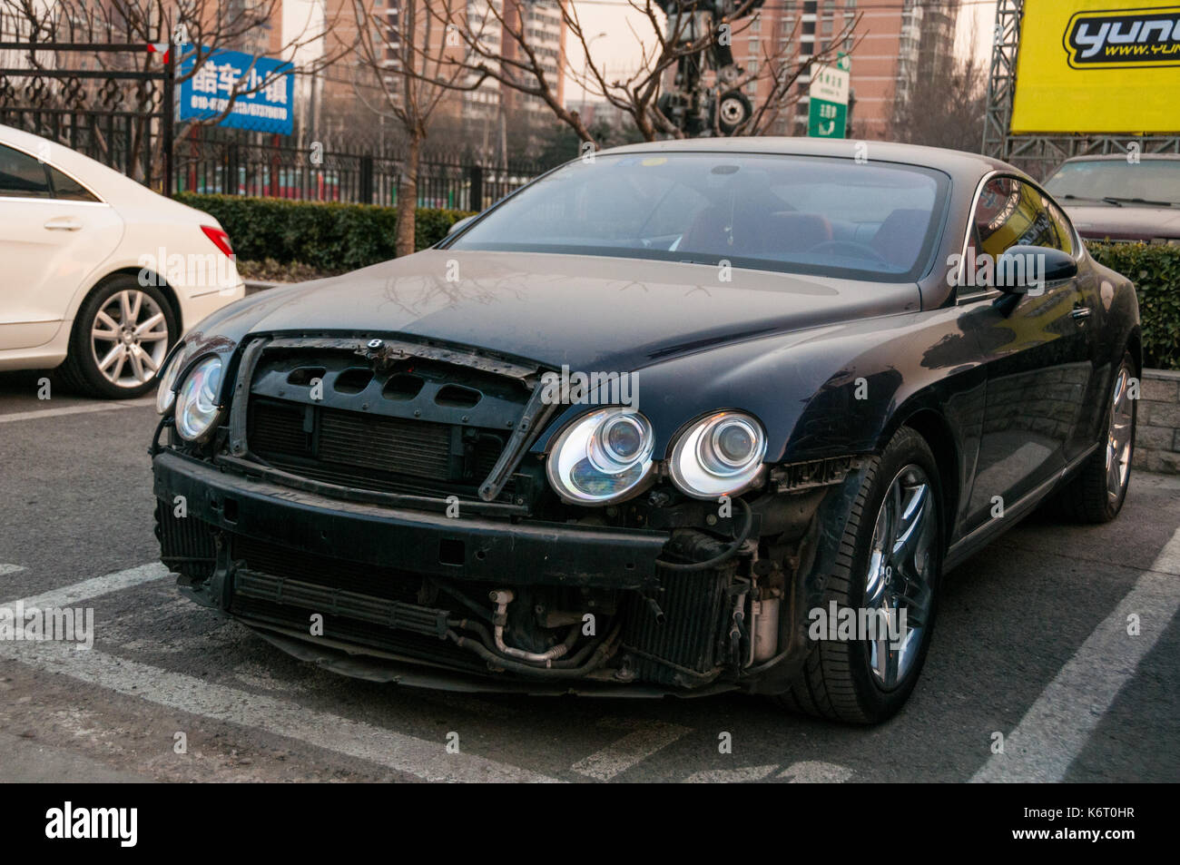 Bentley Continental Gt High Resolution Stock Photography And Images Alamy