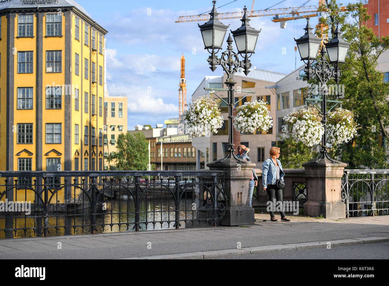 The Iron – an iconic building in the industrial landscape of Norrkoping celebrates its 100 year-anniversary in 2017. - Stock Image