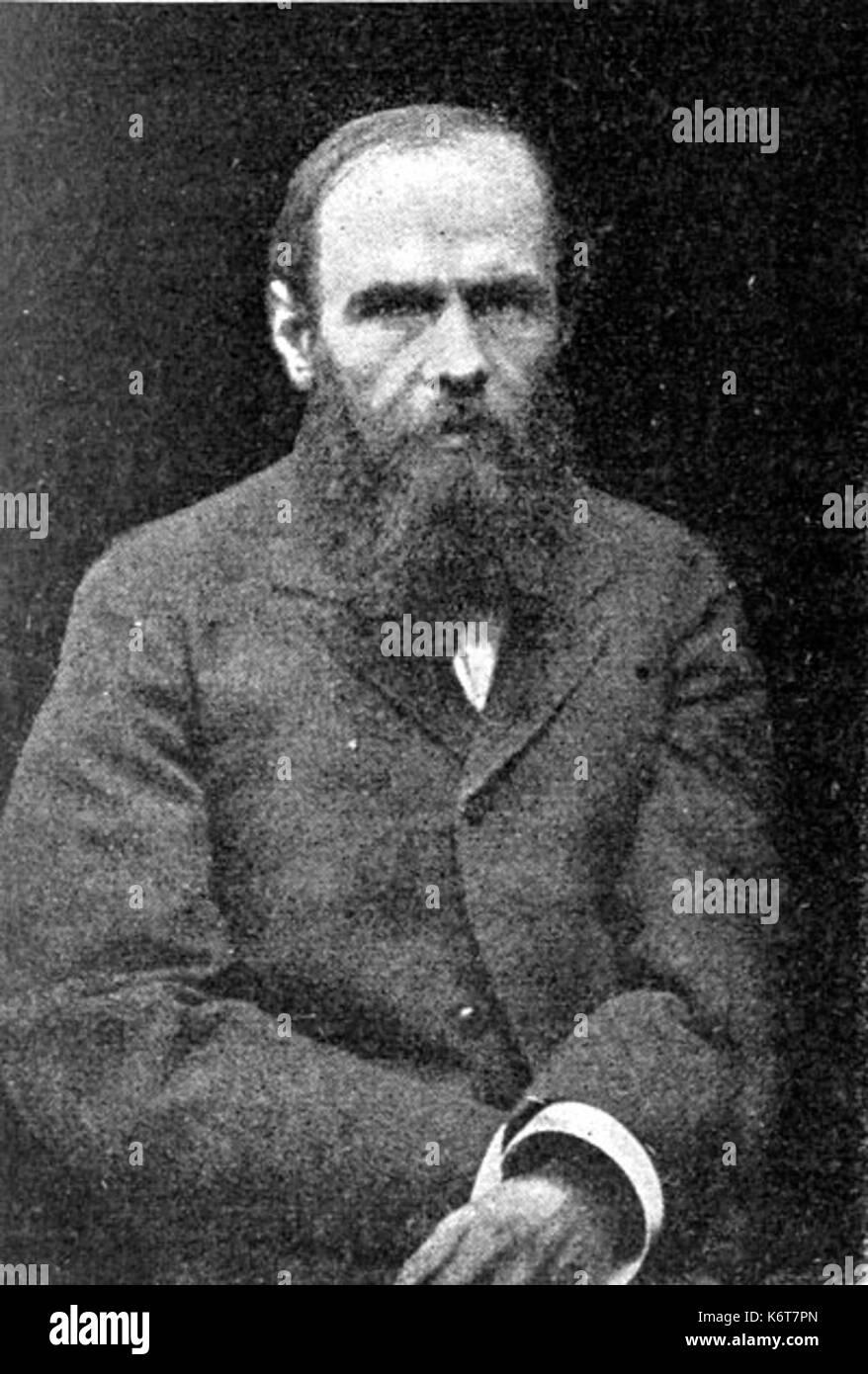 Fjodor Michailowitsch Dostojewski - Stock Image