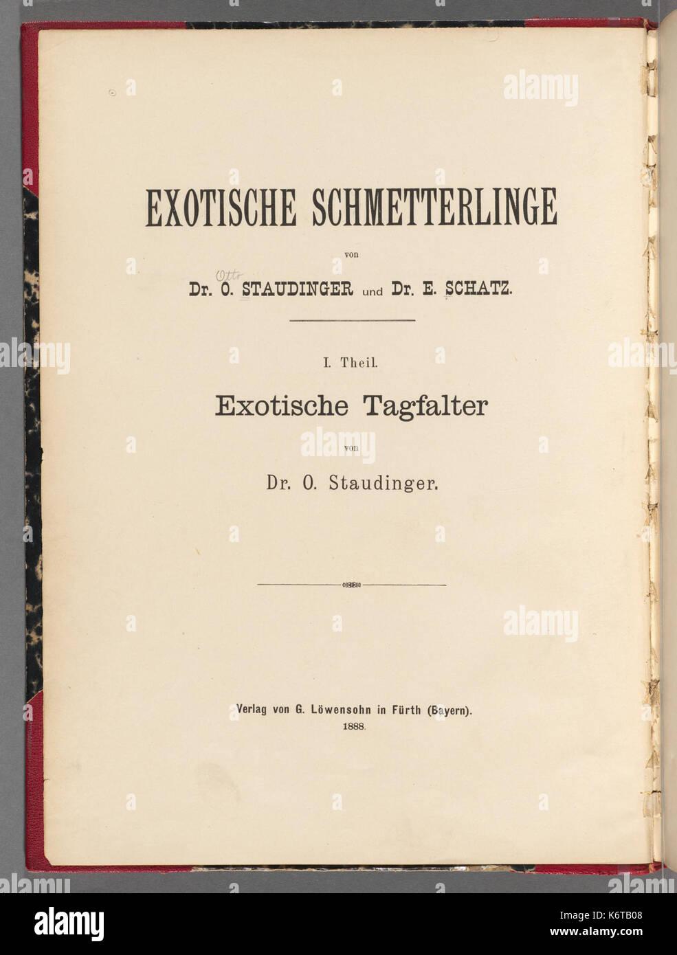 Exotische schmetterlinge BHL40070351 - Stock Image