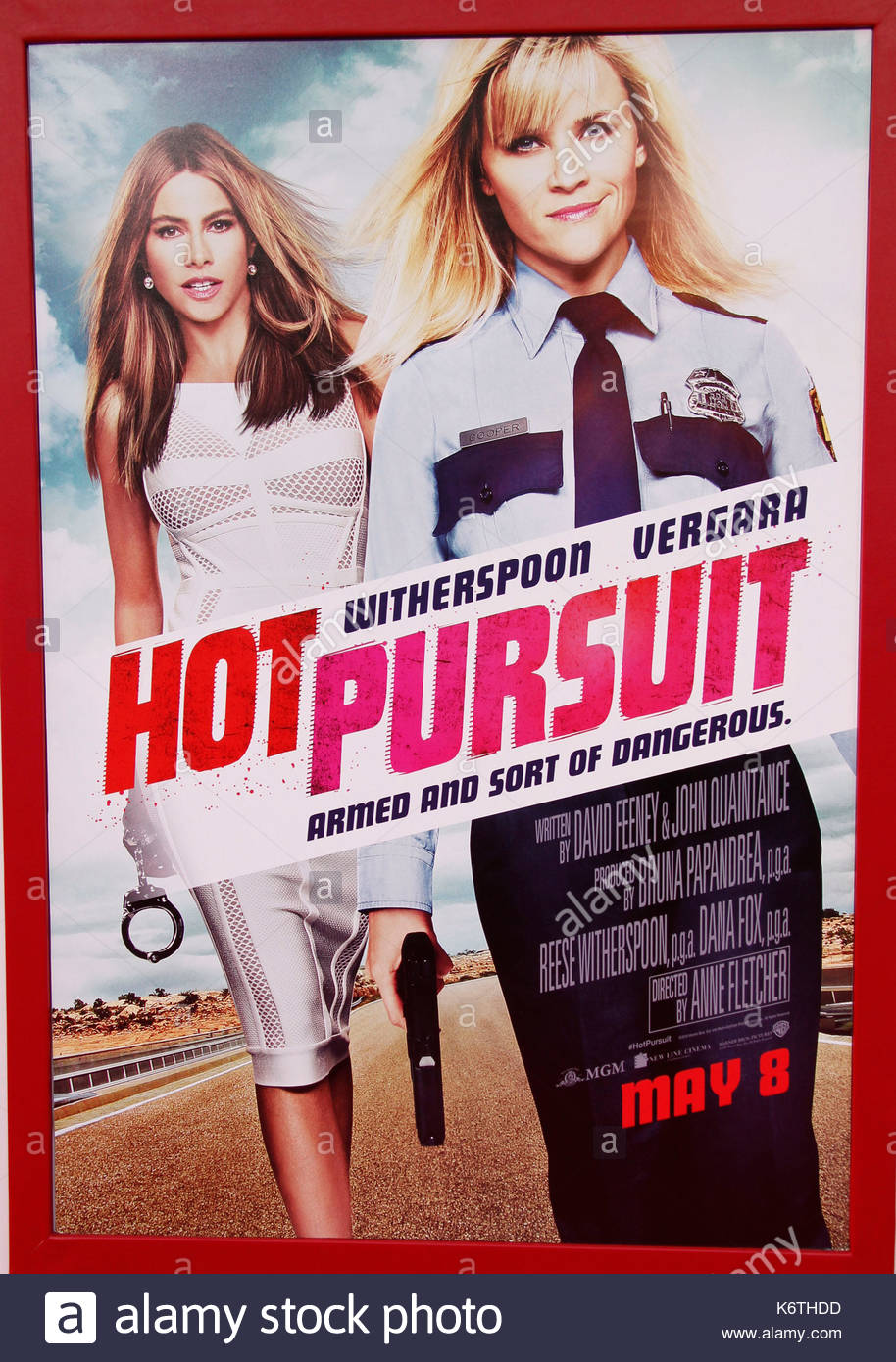 Hot Pursuit Poster The Los Angeles Premiere For Hot Pursuit At The Tcl Chinese Theatre In Hollywood California