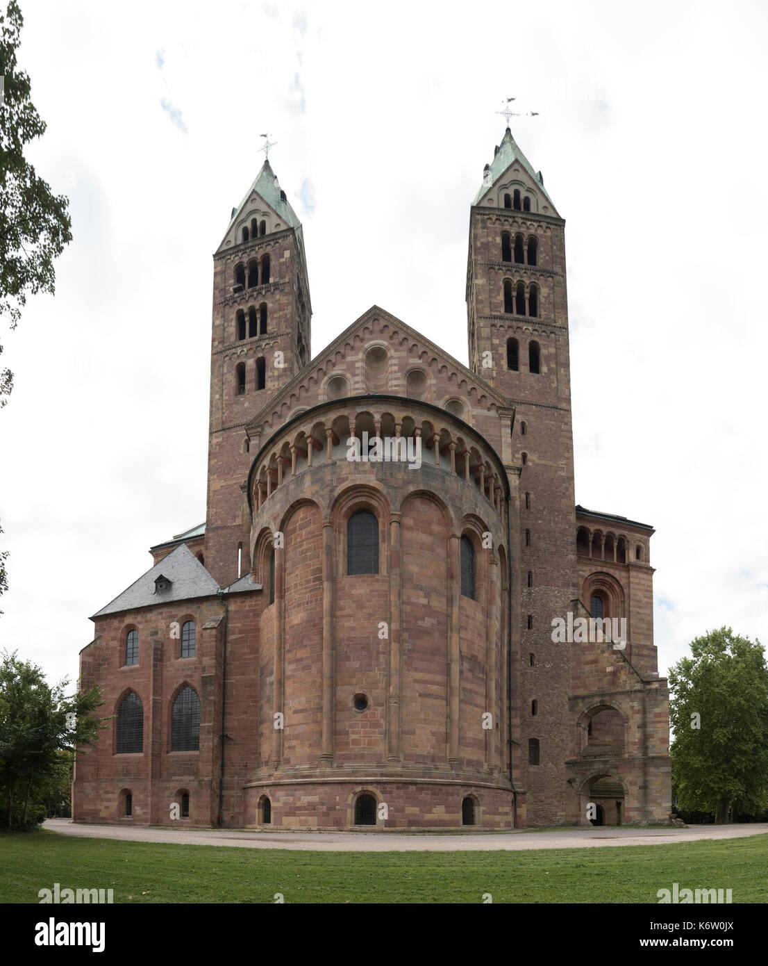 Reisen, Deutschland, Rheinland-Pfalz, Speyer, Innenstadt, September 04. - Stock Image