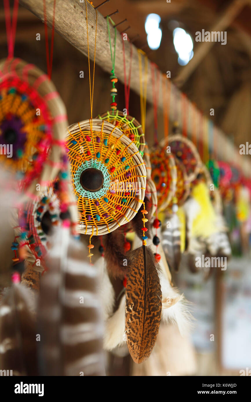 Dreamcatcher, Selva Lacandona, State of Chiapas, Mexico - Stock Image