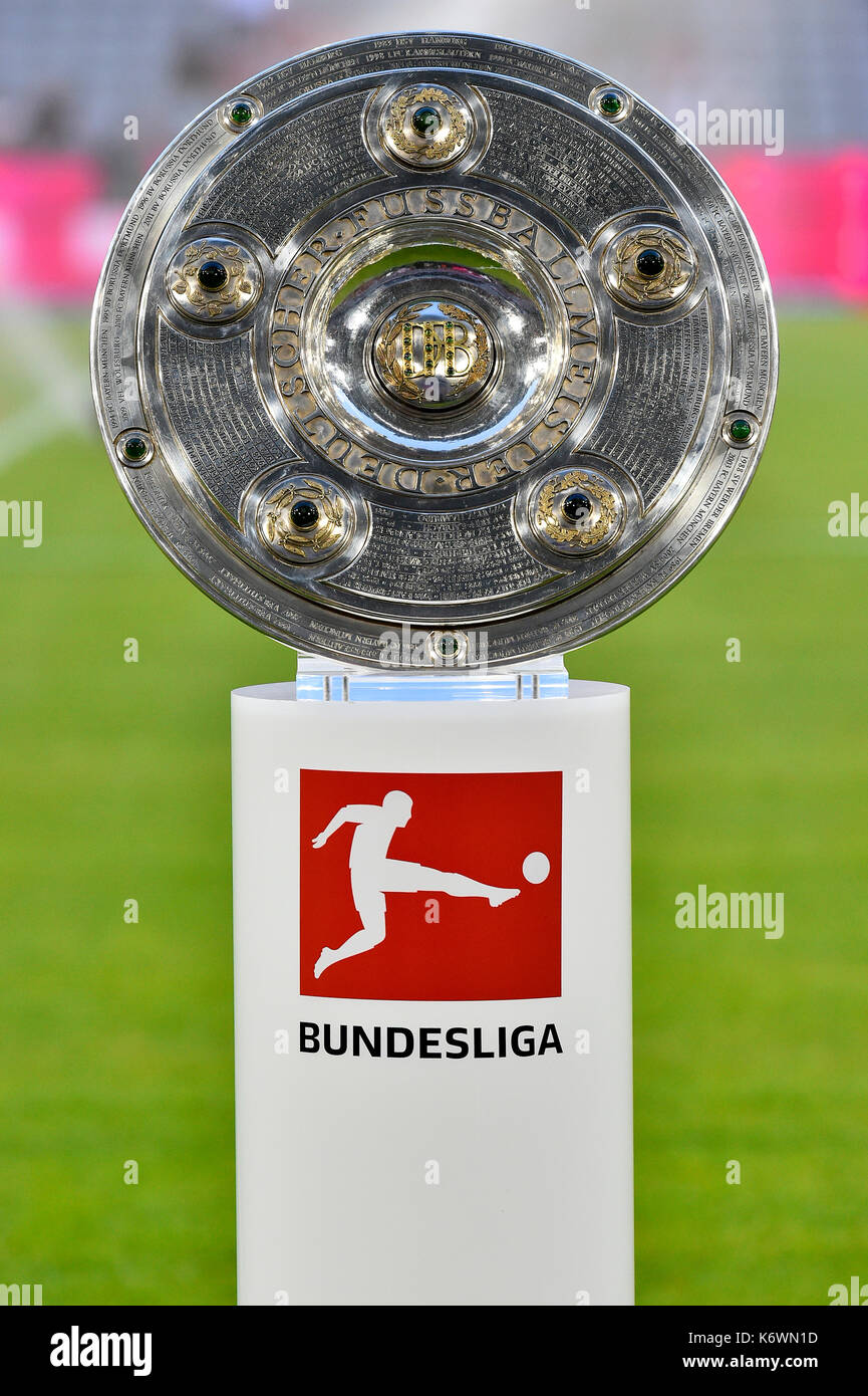 bundesliga trophy high resolution stock photography and images alamy https www alamy com trophy bundesliga meisterschale allianz arena bavaria germany image159146553 html