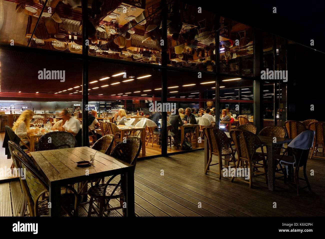 La Terrasse Rouge Stock Photos La Terrasse Rouge Stock