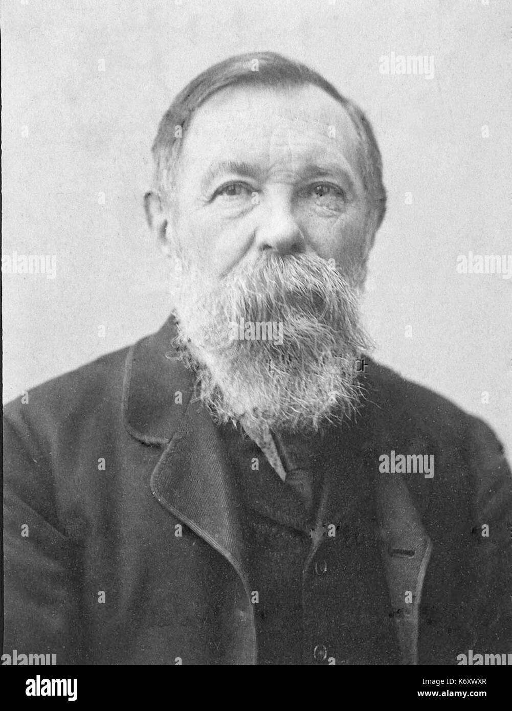 Friedrich Engels Old Stock Photo 159172351 Alamy