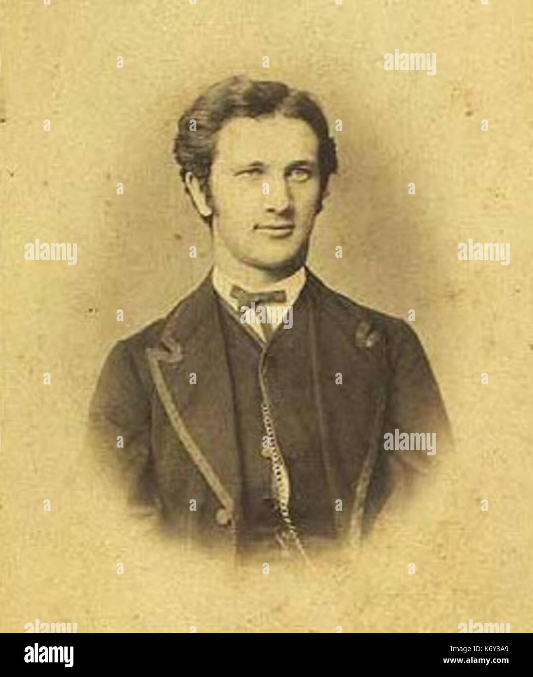 Emil Vett by J.F. Dresler - Stock Image