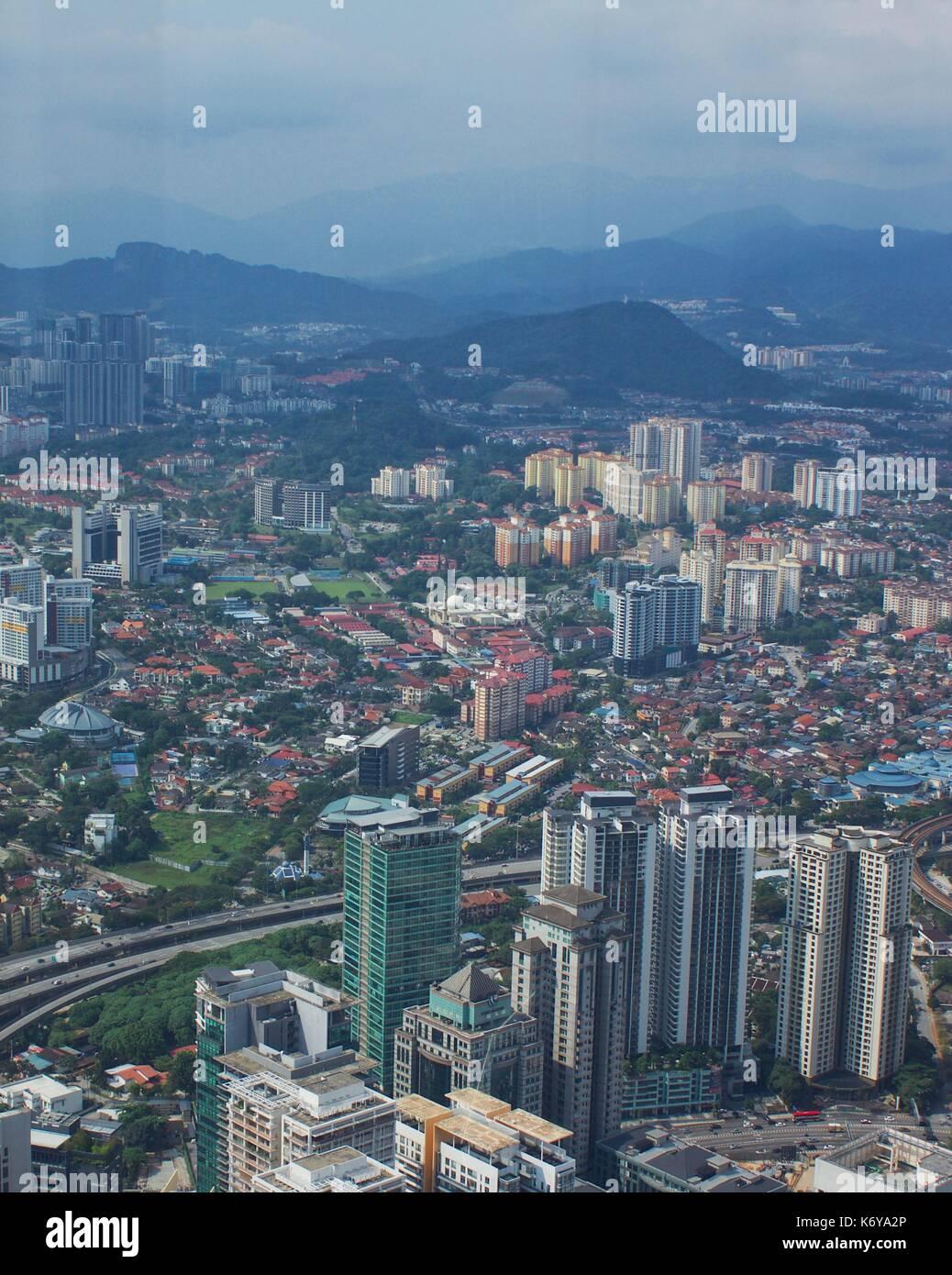 Kuala Lumpur city centre - Stock Image