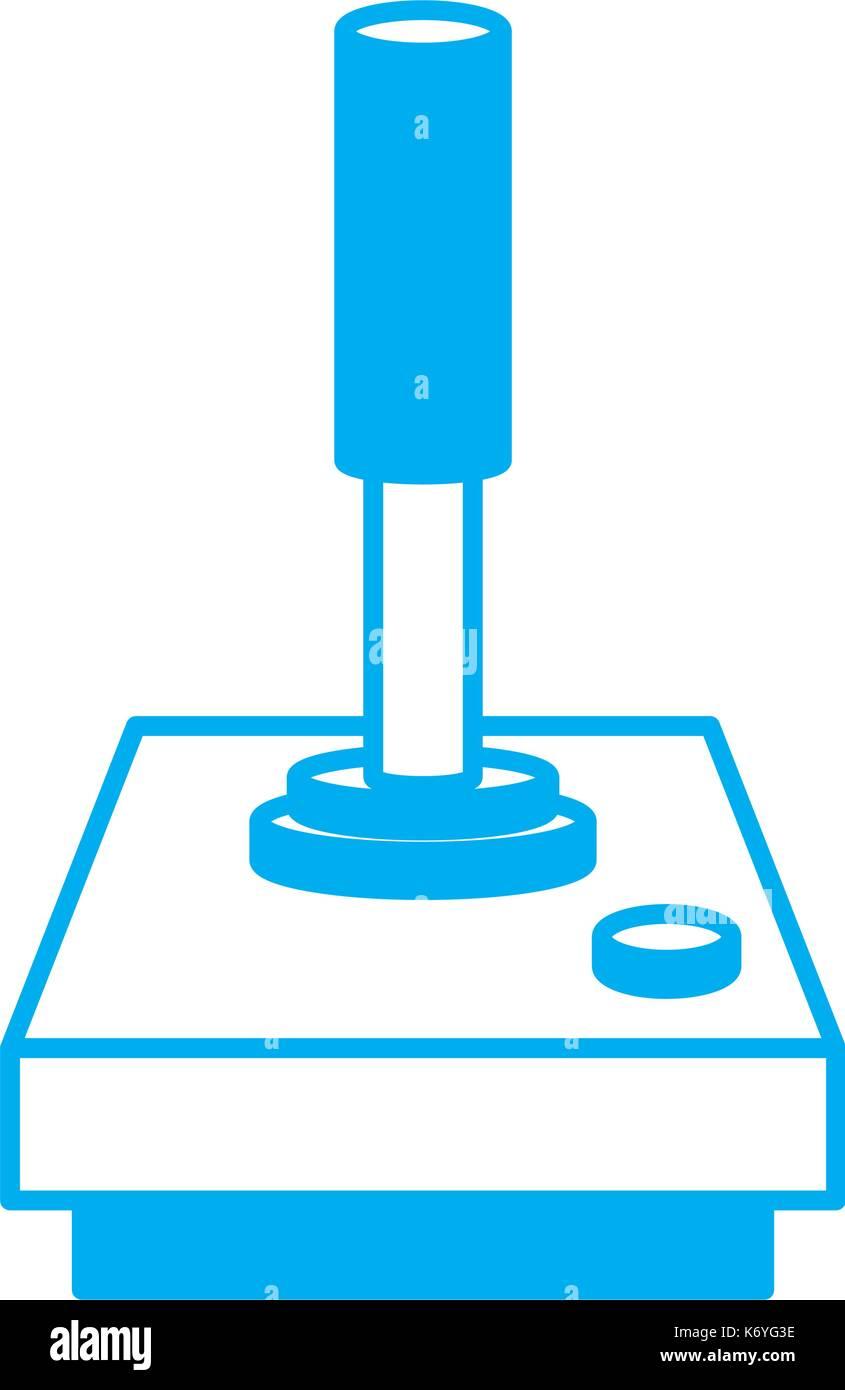 Console joystick videogame - Stock Image