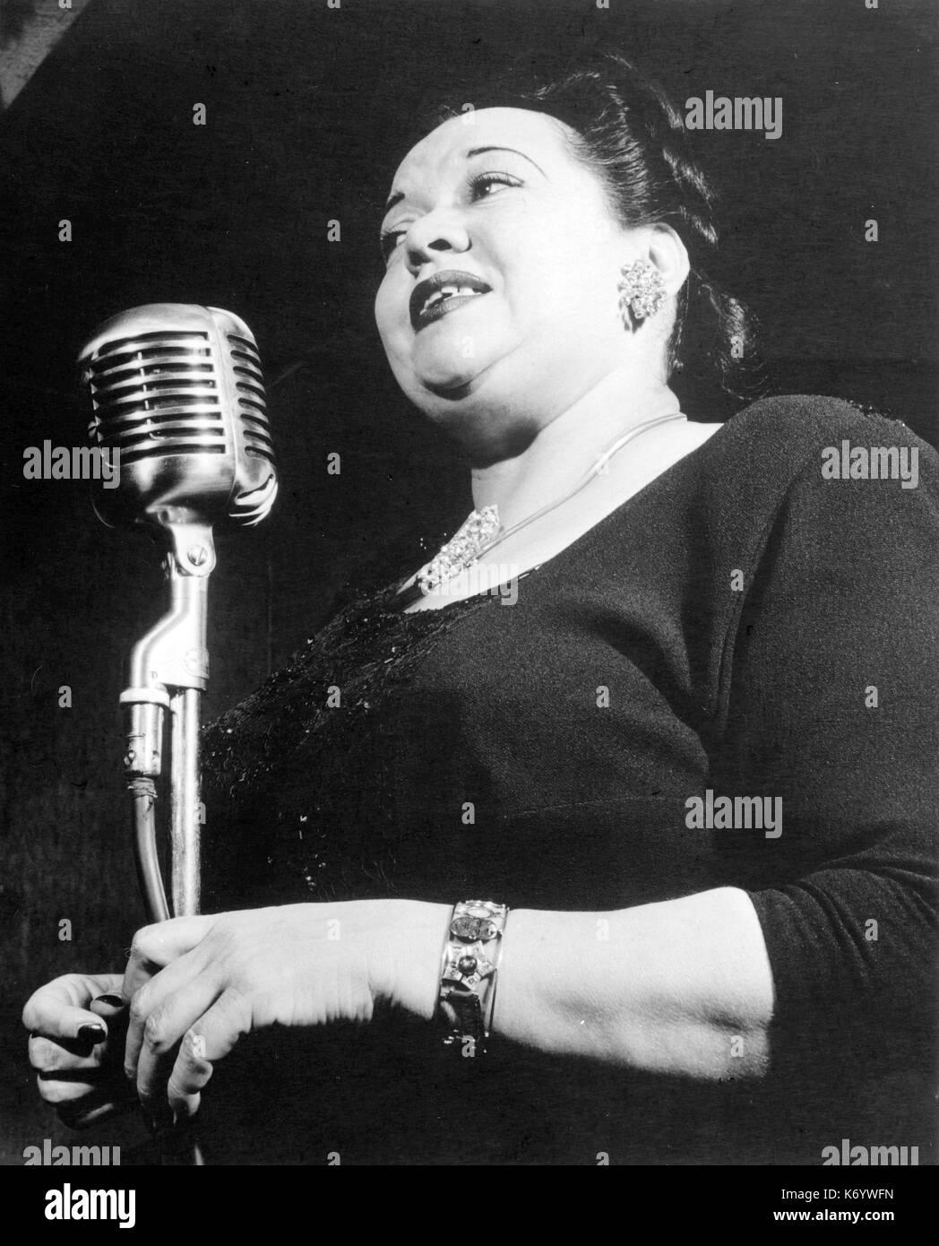 MILDRED BAILEY (1900-1951) American jazz singer in 1947. Photo: William P. Gottleib - Stock Image