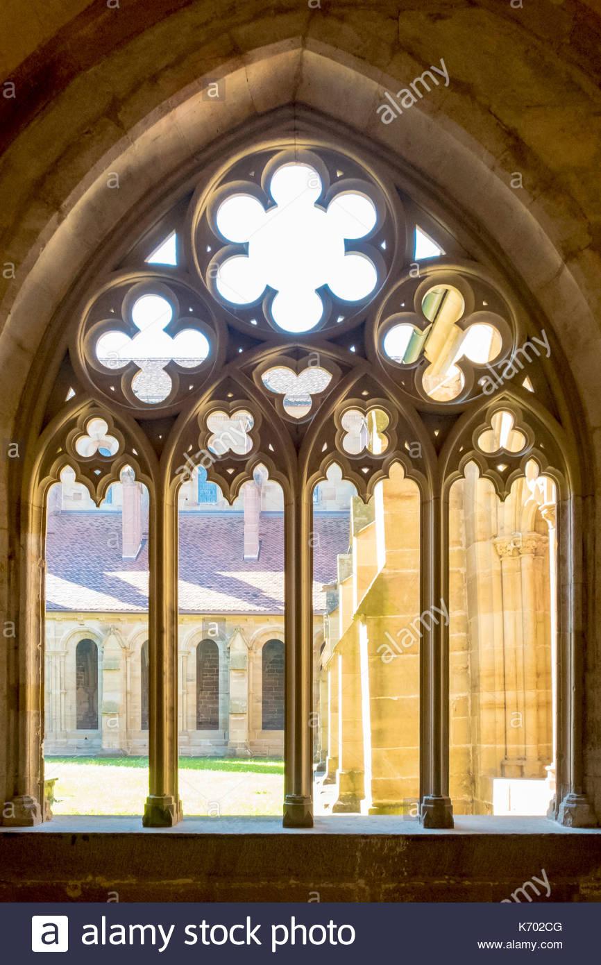 Germany, Baden-Württemberg, Maulbronn. Kloster Maulbronn (Maulbronn Monastery), UNESCO World Heritage Site. Stock Photo