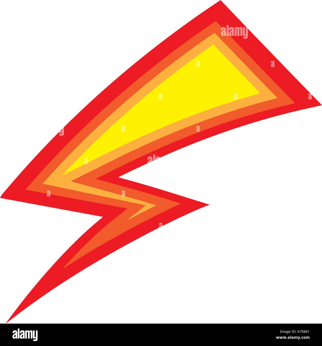 lightning logo template vector icon illustration design stock vector