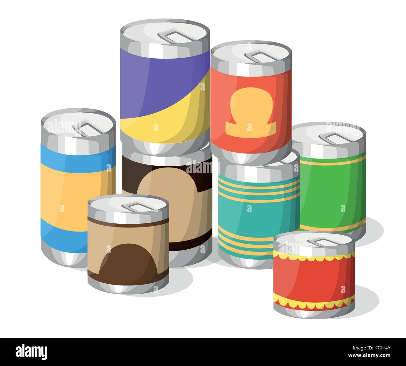 Tin Cans For Food Storage