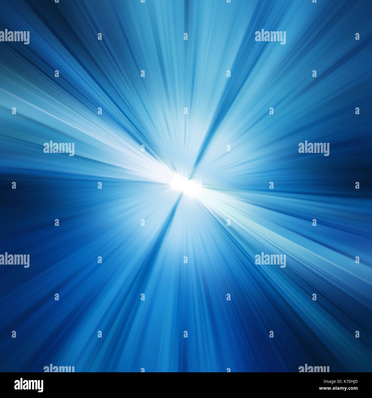 Motion blur 3d rendering - Stock Image