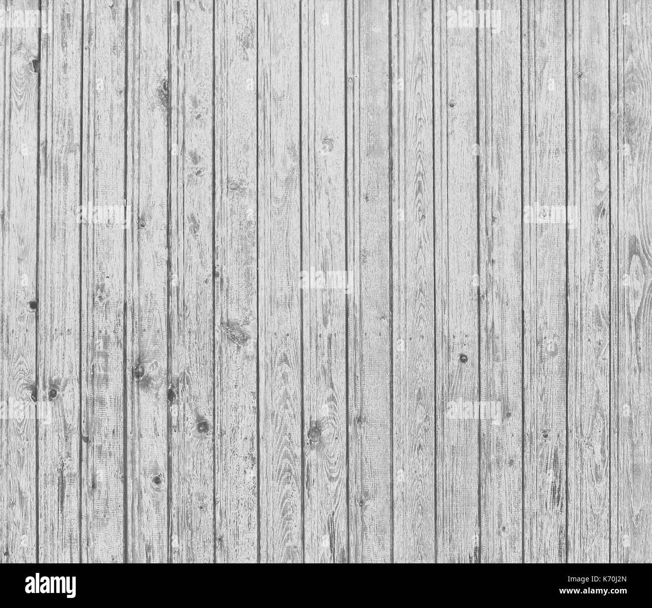 Grey wood planks - Stock Image