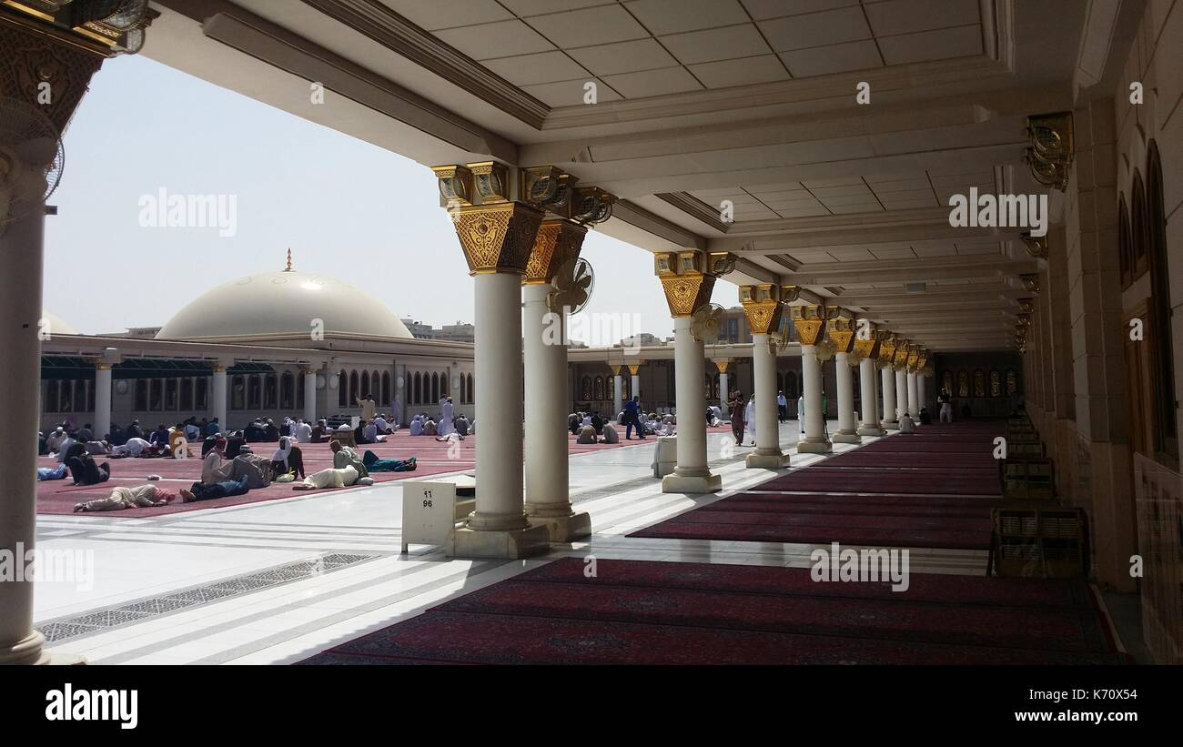 Al-Madīnah al-Munawwarah - Stock Image