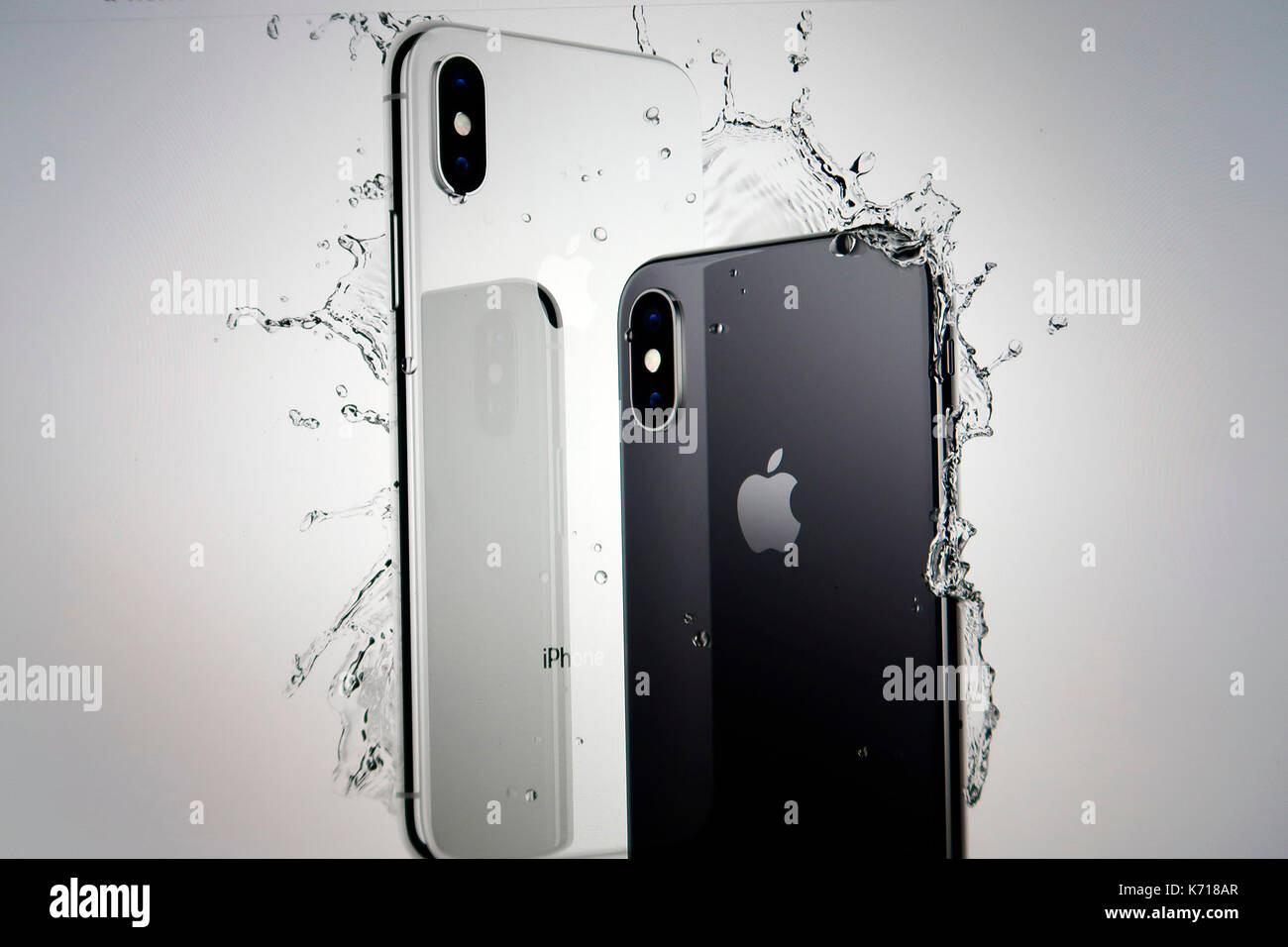Apple iPhone X - Stock Image