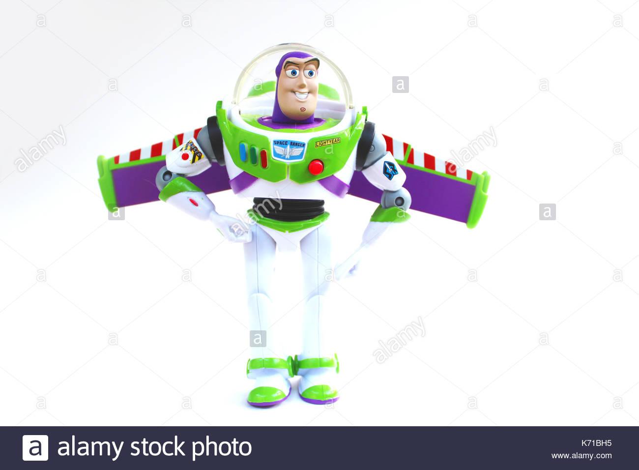 Buzz Lightyear Action Figure - Stock Image