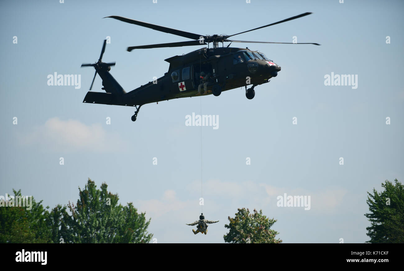 medical evacuation training and certification - Stock Image