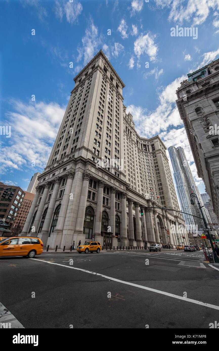 Manhattan Municipal Building: Centre Street Stock Photos & Centre Street Stock Images