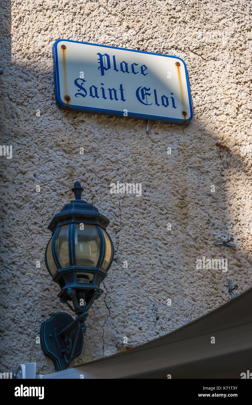 Village Medieval du Castellet Var France - Stock Image