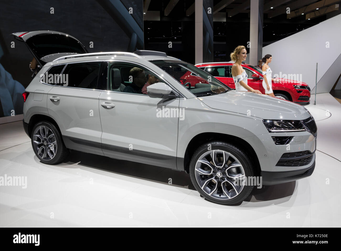 skoda karoq stock photos skoda karoq stock images alamy. Black Bedroom Furniture Sets. Home Design Ideas