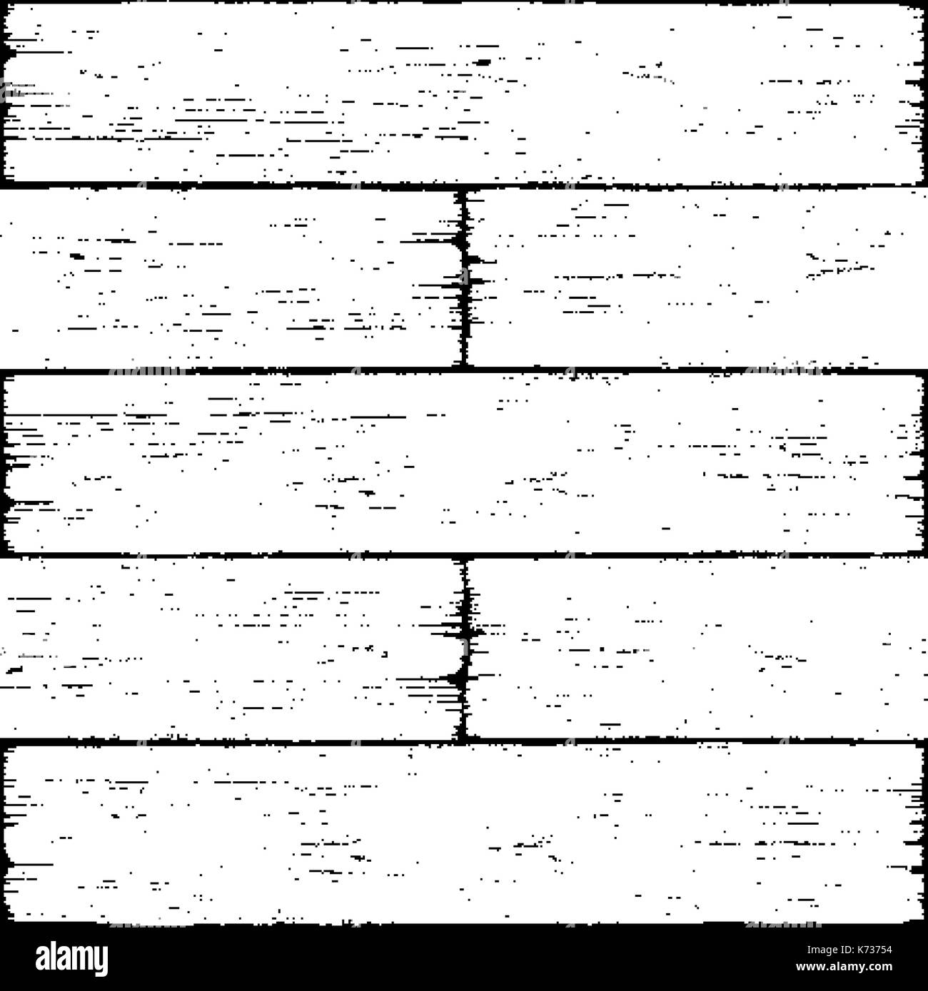 Realistic wood texture background plank with annual years circles. Empty black white color natural pattern swatch template. Backdrop size square forma - Stock Image